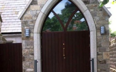Andrews Church Arch Doorway