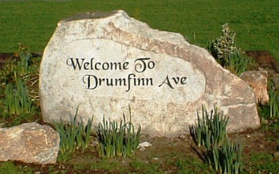 Drumfinn Avenue Sunken Panel