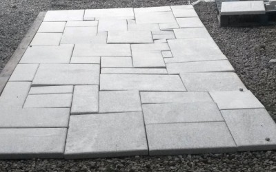 Honed Wicklow Granite Flag Floor