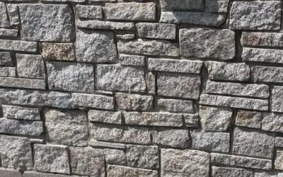 Split Wicklow Granite Wall