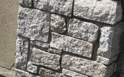 Split Wicklow Granite Walling (3)