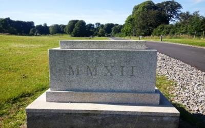 Wicklow Granite Date Stone (3)